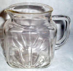 Federal Star Small Clear Pitcher