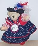 North American Bear Muffy Vanderbear Yankee Doodle 7 In. 1992
