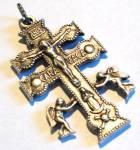 Crucifix Angels Virgin Mother Mary Cross Pendant