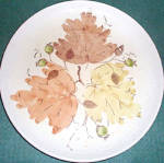Metlox Woodland Gold Dinner Plate