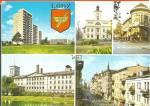 Lodz Poland Five Views Buildings