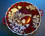 Tray, Ruby Glass, 40th Anniversary