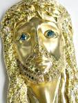Diamond Jesus Pendant