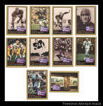 1991 Enor Pro Football Hall Of Fame Cards