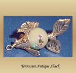 Fancy Fish Charm Pendant