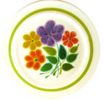 Franciscan Floral Pattern Dinner Plate Earthenware