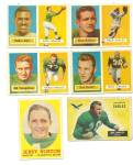 1950's Philadelphia Eagles Football Cards