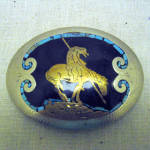 Vintage Johnson And Held End Of The Trail Belt Buckle