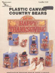 Plastic Canvas Country Bears