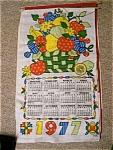 1977 Patchwork Linen Calendar