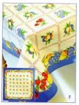 Vintage Pattern Fruit Salad Tablecloth