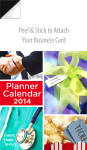 2014 Planner Real Estate Magnetic Calendar