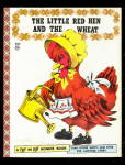 1957 2 In 1 Little Red Hen Bonnie Book