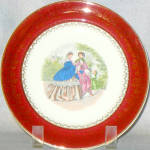 Salem Godey Prints Salad Plate