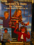 Leisure Arts Sweaters & Vests For Children #234