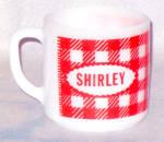 Federal Glass Shirley Mug