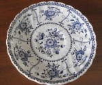 Saucer, Indies-blue, Johnson Bros. 5 1/2