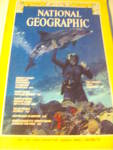 Vintage National Geographic Magazine April 1979