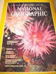 Vintage National Geographic Magazine Arpil 1980