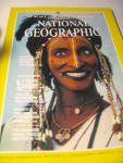 Vintage National Geographic Magazine October 1983.