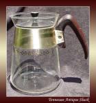 Vintage Corning Glass Coffee Pot Carafe