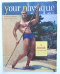 Your Physique Magazine January 1952 Ed Holovchik