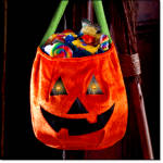 Halloween Light-up Pumpkin Bag