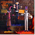 Halloween Glam Characters - Set Of 3