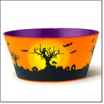 Halloween-decorated Bowl