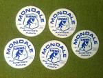 Mondale America's Future Umwa Mining Stickers