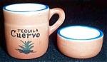 Tequila Cuervo Ceramic Shotglass