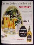 Schenley Blended Whiskey Ad - 1949