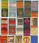 Coal Mining Advertisement Matchbook Covers