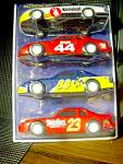 Sunoco Collector's Edition Action Friction Race Cars