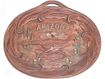 Arizona Roadrunner Souvenir Ceramic Dish