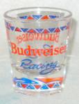 Budweiser Nascar Racing Shotglass