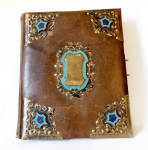 Top Antique 19th Century Unused Photo Album