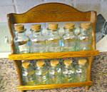 Vintage Rack & Jars