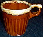 Western Stoneware Brown Drip Mug