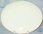 Platinum Band China Platter