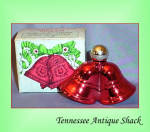 Avon Vintage Cologne Bottle Christmas Bells