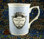 Mug Prince George Birth William Kate Adderley English Bone China