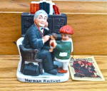 1979 Norman Rockwell's Doctor And The Doll Figurine