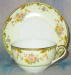 Noritake Clintonia Cup And Saucer