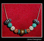 Melon Bead Necklace