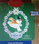 2005 Carlton Cards Frosty The Snowman Christmas Ornament