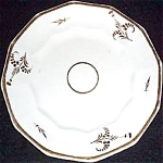 Victorian Gold Decor Dessert Plate