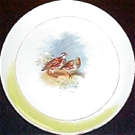 National China Co. Game Birds Plate