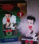 Carlton Cards Betty Boop Christmas Ornament