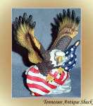 Patriotic Eagle With American Flag